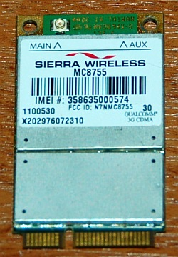 3G HSDPA модем Sierra Wireless MC8755